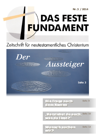 Das Feste Fundament 5+6/2014