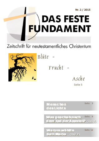 Das Feste Fundament 2/2015
